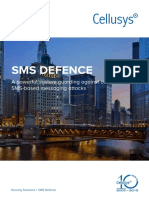 Cellusys Datasheet SMS Defence v4.6