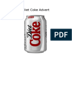 diet coke advert treatment
