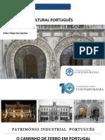 Património Cultural - Patrimonio Industrial Português -O Caminho de Ferro Em Portugal - Estação Do Rossio- Artur Filipe Dos Santos