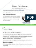 Trigger Point Course Outline