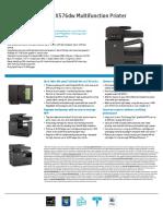 CN598A HP Officejet Pro X576dw MFP