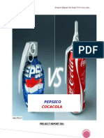 Project Report on comparitive study on pepsi and coca cola