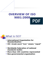 Overview of Iso 9001 2008