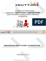 Apresentação Institucional Produttare Completa - Atual