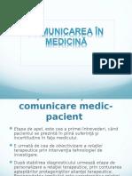 Comunicarea in Medicina