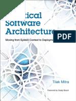 Practical Software Architecture ,Tilak Mitra 2016_IBM