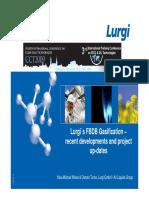 Lurgi ´s FBDB Gasification