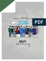 2016 Shillong Calendar