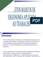 1 Conceito Ergonomia