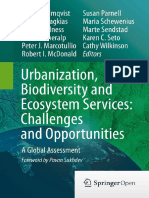 Urbanization Biodiversity and Ecosystem Services-challenges and Opportunities