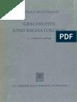 Rudolf Bultmann Geschichte Und Eschatologie