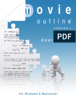 User Guide Movie Outline 3