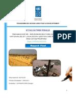 Rapport d'évaluation Final sur le Programme de renforcement des capacités nationales et locales en gestion des risques et des catastrophes
