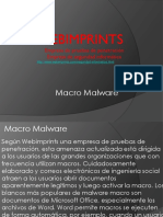 Empresa de Seguridad Macro Malware