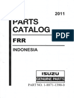 Isuzu FRR Parts Catalog (Engine 4HK1-TCC ) 2011