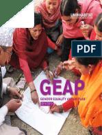 GEAP - Gender Equality Action Plan (2014-2019)