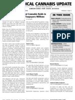 Medical Marijuana - ASA congressional news