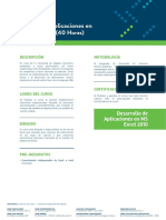 01.4 Desarrollo Aplicaciones Ms Excel 2010