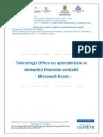 Unlock-Tehnologia Aplicatiilor Office - Excel(1)