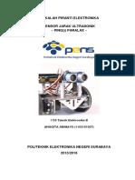 Sensor Jarak Ultrasonik PING PARALAX
