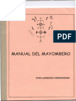 Manual de Mayombero Por Lorenzo Hernandez
