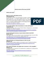 Boletín de Noticias KLR 06ENE2016