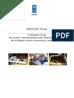 Rapport Final Evaluation Projet Femmes Vulnérables d'Atsimo Atsinanana Version Finale2