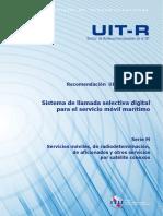 Dsc Itu Recomendation r Rec m.493!13!200910 i!!PDF s