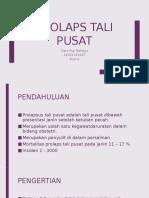 PPT Prolaps Tali Pusat (REFERAT DR. JEFF)