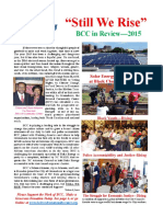 BCC End of the Year Report for 2015