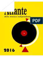 Atlante Della Musica Indipendente 2016 - 2ed