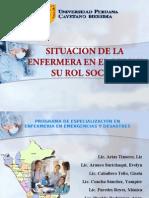 SITUACION DE LA ENFERMERA EN EL PERU Y SU ROL SOCIAL