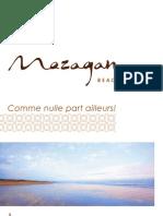 Dossier de presse fr - Mazagan Beach Resort, El Jadida, Casablanca, Morocco
