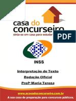 Apostila Interpretação de Texto INSS 2014