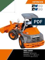 Hitachi Wheel Loader ZW90