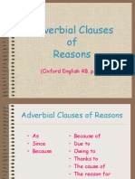 Adverbial Clauses of Reason.ppt