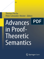 Advances in Proof - Theoretic Semantics