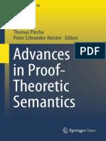 Advances in Proof - Theoretic Semantics