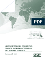 United States-Gulf Cooperation Council Security Coopeeration in a Multipolar World