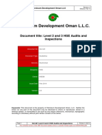 GU-441 Level 2 and 3 HSE Audit Rev 2