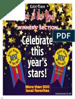 Best of the Best 2015 - Winner's Section