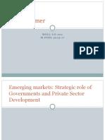 Marketing in emerging markets