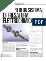 ECM Fresatura elettrochimica