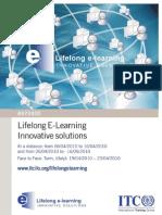 Lifelong E-Learning