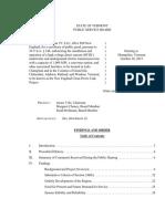 TDI Final Order - VT Public Service Board