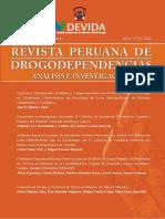 Revista Peruana de Drogodependencias Agosto 2011