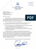 Rep. Hunter letter to DHS