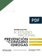 Informe Ejecutivo. IV Estudio Nacional Prevención y Consumo de Drogas en Estudiantes de Secundaria 2012