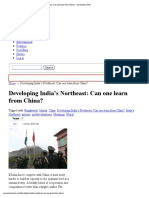 Developing India's Northeast