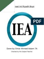 G7 I.E.A. Notes 2015. (1)